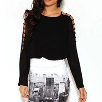 Motel Rocks Becka Skirt in Cityscene - lolobu