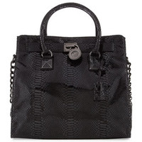 Hamilton Jewel Large Tote Bag, Black