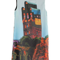 Retro Mansion Motif Sundress [NCSKE0080] - &amp;#36;51.99 :