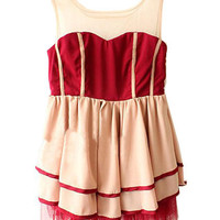 Palace Style Sleeveless Dress [NCSKK0077] - &amp;#36;32.99 :