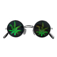 Pot Leaf Sun Glasses on Sale for $6.95 at The Hippie Shop