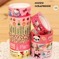 10pcs Kawaii Masking Tapes - Version 06