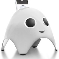 Speakal iBoo 2.1 Stereo iPod Docking Station with 3 Speakers (White)