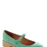 Jeffrey Campbell Amuse-mint Park Flat | Mod Retro Vintage Flats | ModCloth.com