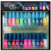 L.A. Colors Nail Art - Art Deco N...