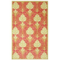 Mohawk Home Elegant Ikat Hot Pink 5 ft. x 8 ft. Area Rug-369279 at The Home Depot