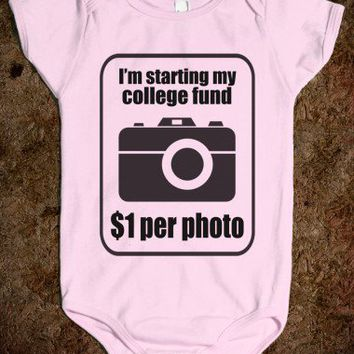 COLLEGE FUND $1 PER PHOTO - BABY ONSIE - underlinedesigns