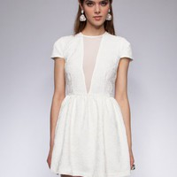 Trophy white dress