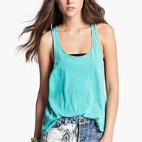 Project Social T Acid Wash Muscle Tank (Juniors) | Nordstrom