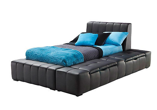 zoey black twin storage bed from rooms to go. Black Bedroom Furniture Sets. Home Design Ideas