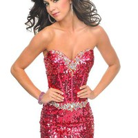 Precious Formals P46633 at Prom Dress Shop