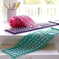 Pink, Pool   Plum Roll 'n Go Keyboards | PBteen