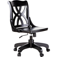 Oberon Black Desk Chair