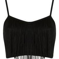 Petite Fringe Bralet - New In This Week - New In - Topshop