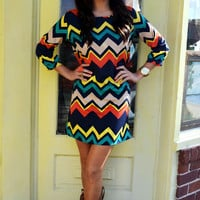 RESTOCK Young And Fabulous Dress: Multi | Hope's