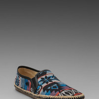 H by Hudson Orca Canvas Slip-On in Blue Multi from REVOLVEclothing.com