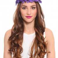 Purple Haze Headband - What's New | GYPSY WARRIOR