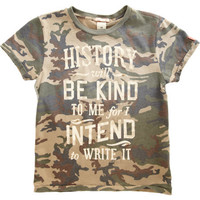 Scotch Shrunk Camo Tee at Barneys.com