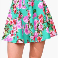 Garden Gathering Skirt - Green