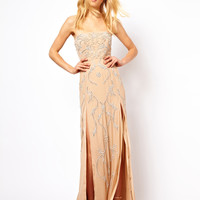 Needle & Thread Ornate Maxi Prom Dress at asos.com