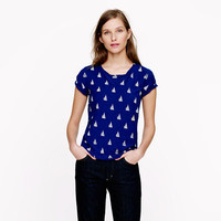 Sailboat tee - knits & tees - Women's new arrivals - J.Crew