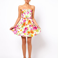 Oasis Bandeau Floral Dress