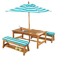 One Kings Lane - The Playroom - Under-the-Sun Table &amp; Bench Set