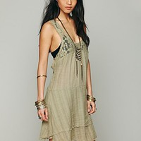 Free People Apron Back Dress