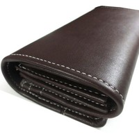 Premium Leather Dark Brown Ladies&#x27; Wallet/Purse