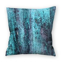 Coussin Vintage Aqua Mtal - Coussins - Mandellia