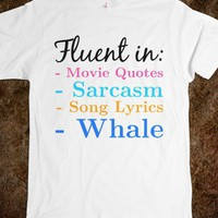 FLUENT MULTILINGUAL SPEAKER FUNNY T-SHIRT
