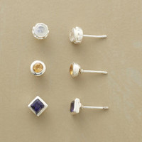 LES VACANCES EARRING TRIO, SET OF 3         -                  Stud         -                  Earrings         -                  Jewelry                       | Robert Redford's Sundance Catalog