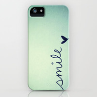 s  m  i  l  e  iPhone &amp; iPod Case by rubybirdie