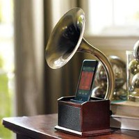 Gramaphone iPod- Station | Pottery Barn