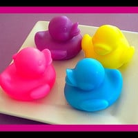 Soap - Rubber Ducky - NEW - Party Favors, Easter - You Choose Color And Scent | Luulla