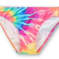 Glamour Kills Maldives Tie Dye Tab Side Bikini Bottom