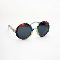 Tie-dye Round Sunnies | Tarte Vintage