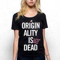 Girls Originality isn't Dead Scoop - Glamour Kills Clothing