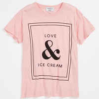 Wildfox 'Love & Ice Cream' Tee (Big Girls) | Nordstrom