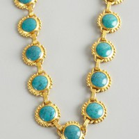 Gurhan gold and chinese turquoise stone necklace | BLUEFLY up to 70 off designer brands