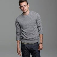 Cashmere crewneck sweatshirt