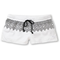 Roxy Free Sky White &amp; Tribal Board Shorts