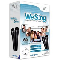 We Sing (inkl. 2 Mikrofone): Nintendo Wii: Amazon.de: Games