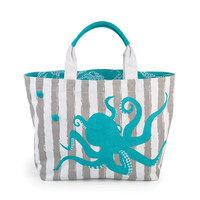 Sebring Tote Bag Octopus Print