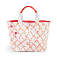 Sebring Tote Bag Rope Print