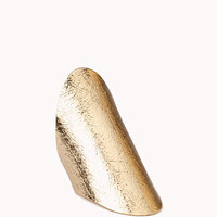 Oval Knuckle Ring