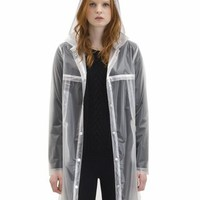 WeSC Women's Clear Rain Coat