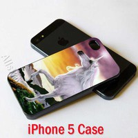 Mystic Horse Unicorn Custom iPhone 5 Case