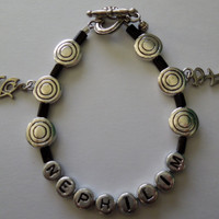 The Mortal Instruments Nephilim bracelet by MundaneMakings on Etsy
