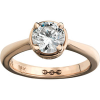 HOORSENBUHS for Forevermark Diamond &amp; Rose Gold Regis Ring at Barneys.com
